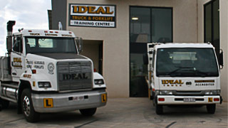 Driver training vehical at Ideal Driving School
