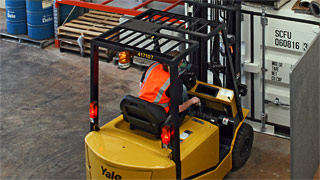 Forklift driver training at Ideal Driving School