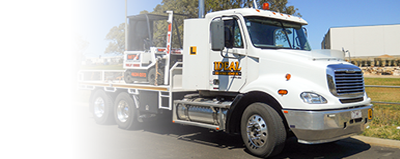 Heavy Rigid Truck Synchro-mesh (restricted) licence driver training courses in Toowoomba
