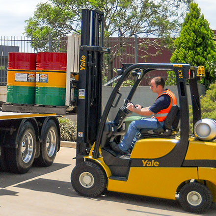 Forklift  High Risk Work licence driver training courses