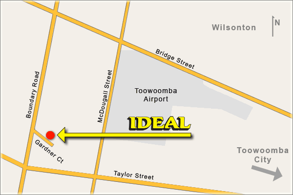 Gardner Court, Toowoomba location of Ideal Driving School